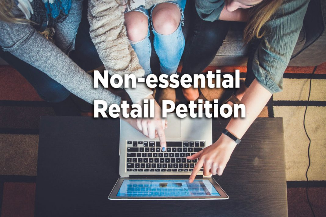 Non-essential Retail Petition